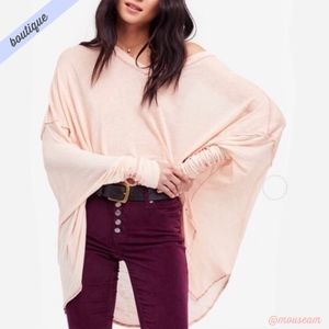 [We The Free] Never Give Up Dolman Linen Tunic